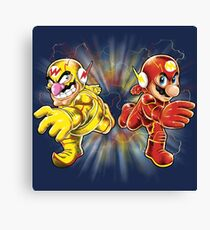 Super Flashy Rivals Canvas Print