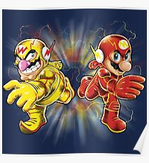 Super Flashy Rivals Poster