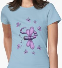 Dragonfly Dreams Womens Fitted T-Shirt