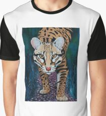Stalking Ocelot Graphic T-Shirt