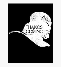 Thanos is Coming Photographic Print