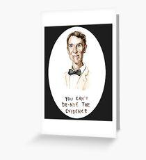 Bill Nye Greeting Card