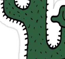 Shaka Cactus Sticker