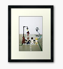 Rebel road Framed Print