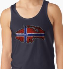 Skandiflag Norge Men's Tank Top