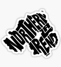 Northern Ireland Black Sticker
