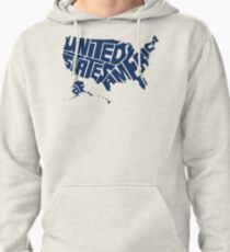 USA Blue Pullover Hoodie