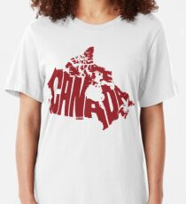 Canada Red Slim Fit T-Shirt