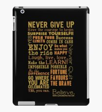 Inspirational Thoughts Collection T-shirts & Homewares iPad Case/Skin