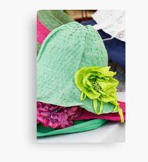handmade hats Canvas Print