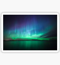 Beautiful northern lights Sticker