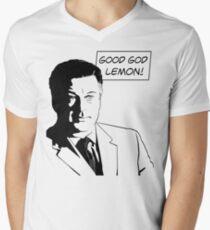 Good God Lemon Men's V-Neck T-Shirt