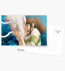 Sen et Haku Cartes postales