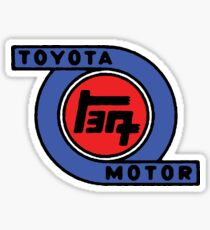 "Toyota ""Turbo"" Logo Sticker"