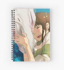 Sen and Haku  Spiral Notebook