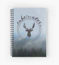 The Raven Cycle - Cabeswater Logo (Woods) Spiral Notebook