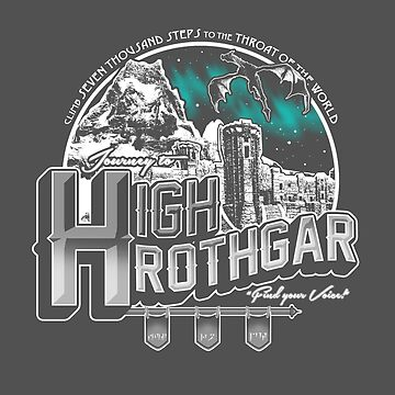 JOURNEY TO HIGH HROTHGAR de BCArtDesign