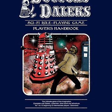 Doctors & Daleks by JKTees