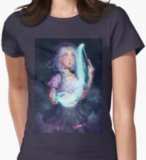 Moon Witch Fitted T-Shirt