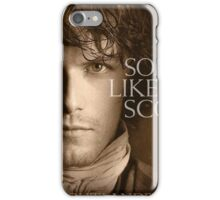 Jamie Fraser Outlander Cover iPhone Case/Skin