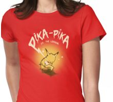 Pika-Pika VS. The League Womens Fitted T-Shirt