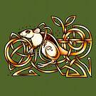 Celtic Rat by Rose Gerard