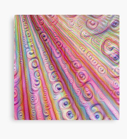 Seashells #DeepDream Metal Print