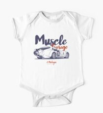 Muscle garage. Cobra Daytona One Piece - Short Sleeve