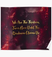 Until The Darkness Claims Us Poster