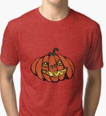 PUMPKINS! A pumpkin is for life, not just Halloween.  Tri-blend T-Shirt