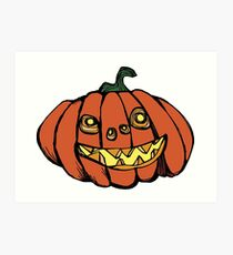 PUMPKINS! A pumpkin is for life, not just Halloween.  Art Print