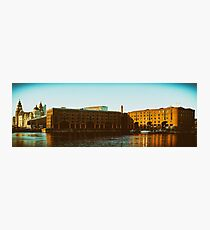Albert Dock and the Three Graces Photographic Print