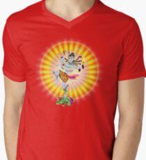 Shiva T-Shirt mit V-Ausschnitt für Männer