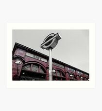 Fading London - Kilburn Park Art Print