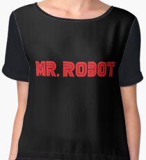 Mr. Robot - Mr. Robot Chiffon Top