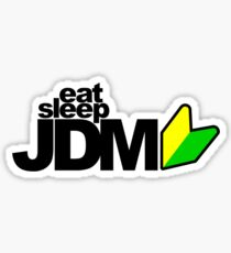 Eat Sleep JDM (4) Sticker