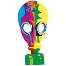 gas mask color revolution by 2piu2design