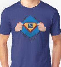 Superdesigner! — Photoshop version T-Shirt