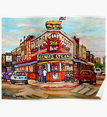 GENO'S STEAKHOUSE PHILADELPHIA PAINTINGS Poster