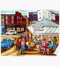 PAT'S  STEAKS PHILADELPHIA PAINTINGS Poster