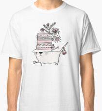 Cup of Tea Cat Classic T-Shirt
