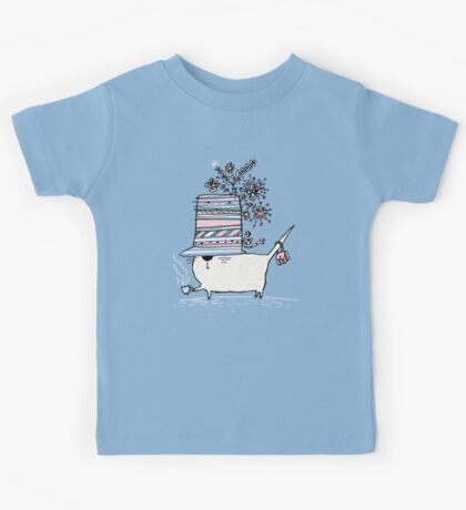 Cup of Tea Cat Kids Clothes