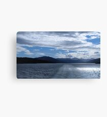 Ullapool to the Isle of Lewis Canvas Print