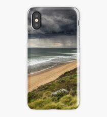 Storm at 13th Beach iPhone Case/Skin
