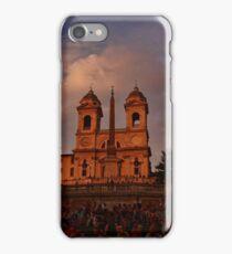 Piazza di Spagna iPhone Case/Skin