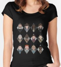 The Walking Dead: Squad Goals Women's Fitted Scoop T-Shirt