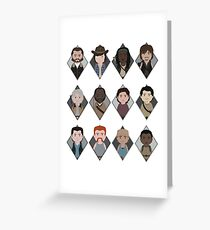 The Walking Dead: Squad Goals Greeting Card