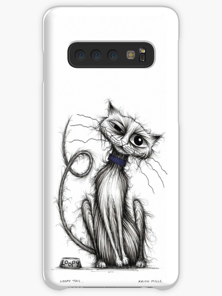 official photos 65395 bb72d 'Loopy tail' Case/Skin for Samsung Galaxy by Keith Mills