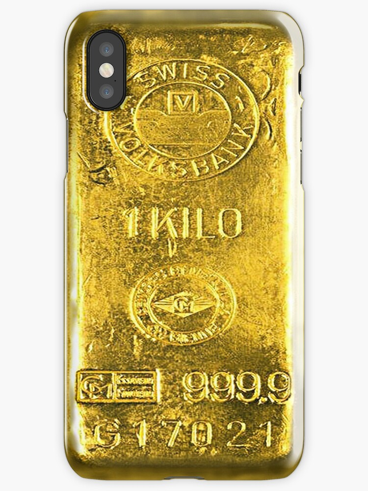 gold iphone 5 case quot gold bar quot iphone cases amp skins by adam redbubble 14202