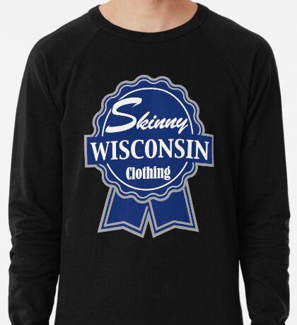Wisconsin Skinny Blue Badge of Honor Lightweight Sweatshirt